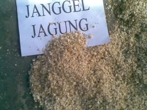 Janggel jagung yang telah di giling
